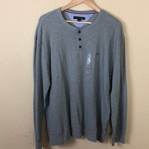 NWT Tommy Hilfiger thermal Henley shirt